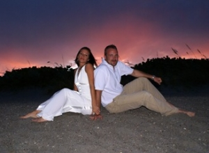 Satellite Beach Florida wedding September 18 David and Jessica