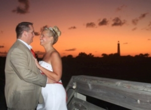 Daytona Beach wedding with Kim and Joe October 14