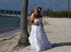 Key West Beach wedding