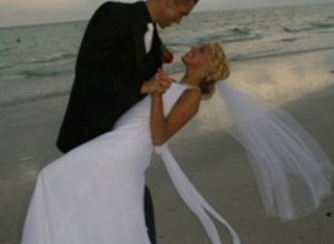 Ricky and Ashlea May 10 Ft Desoto Beach Wedding