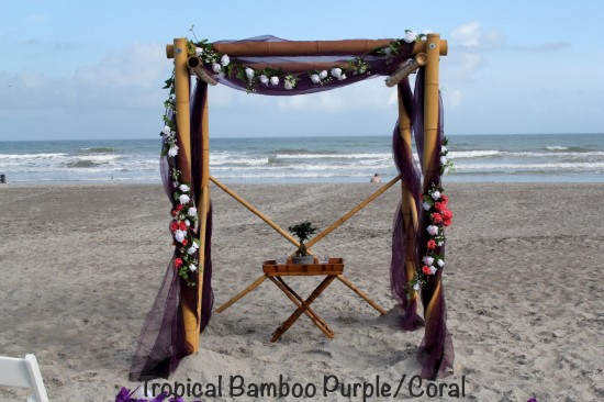 Purple Coral wedding by The Wedding KISS